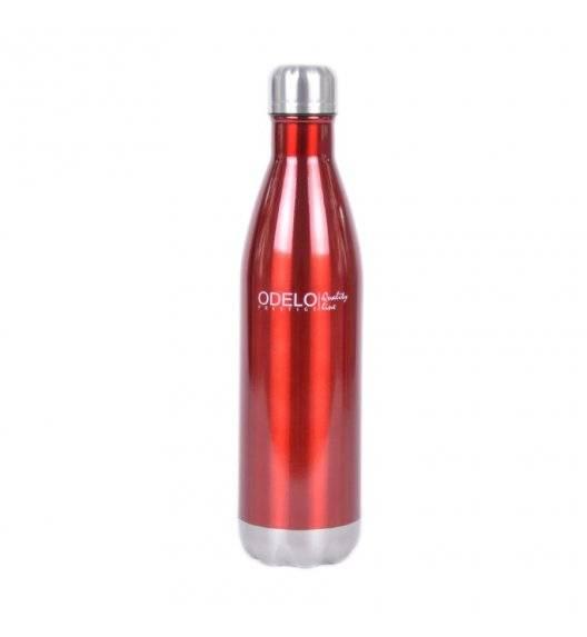 ODELO Butelka termiczna / 500 ml / czerwony, pomarańczowy, niebieski / stal nierdzewna
