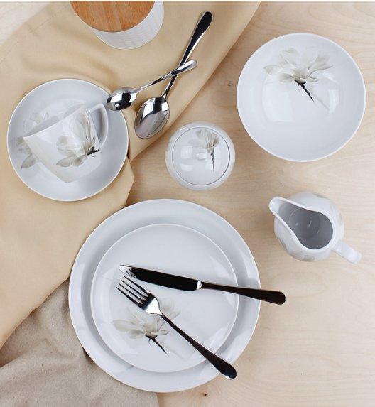 LUBIANA MAGNOLIA 6474 Serwis obiadowo - kawowy 71 elementów / 12 osób / porcelana