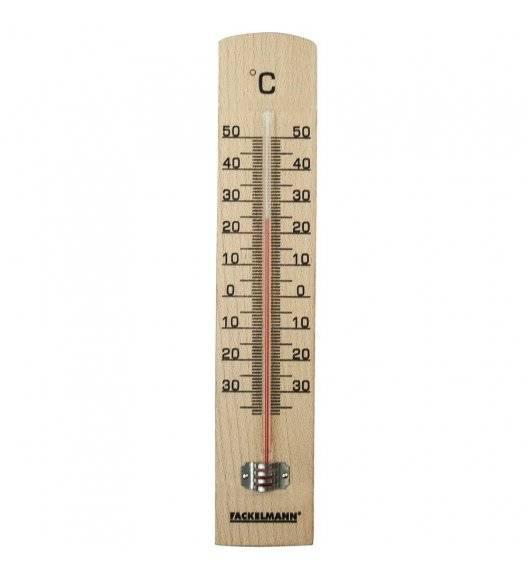 FACKELMANN Termometr okienny zewnętrzny / drewno