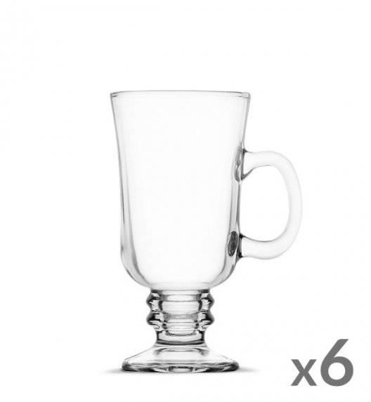 TADAR Komplet 6 szklanek Irish Coffe 240 ml