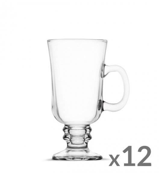 TADAR Komplet 12 szklanek Irish Coffe 240 ml Kawa Latte