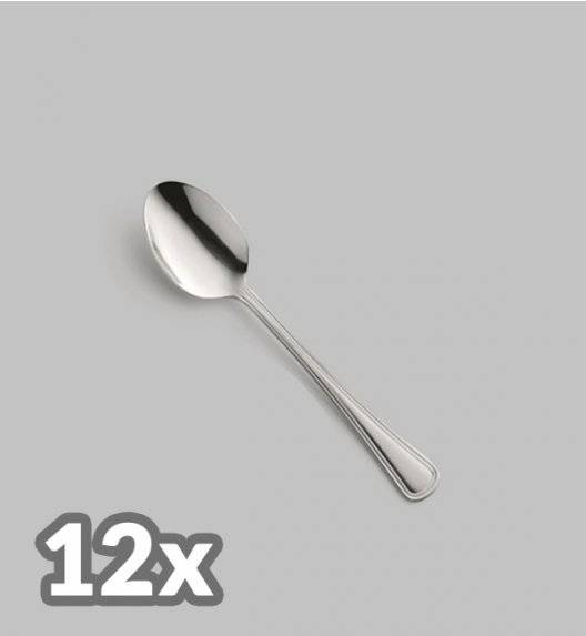 AMEFA BOLOGNA Sztućce UE 12x Łyżeczka do herbaty LUZ / połysk