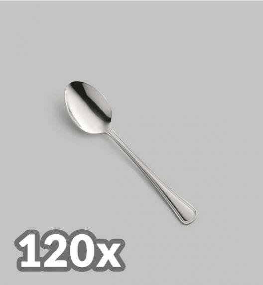 AMEFA BOLOGNA Sztućce UE 120x Łyżeczka do herbaty LUZ / połysk
