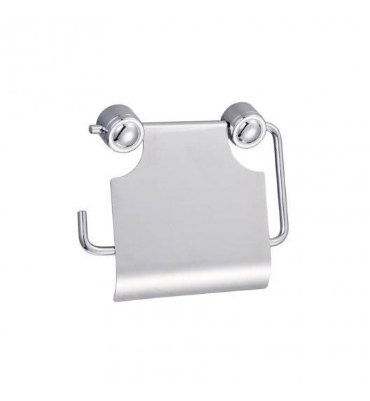 TADAR STANDARD Uchwyt na papier toaletowy / 18 x 8,5 cm / metal chromowany