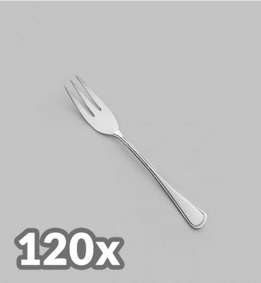 AMEFA BOLOGNA Sztućce UE 120x Widelczyk do ciasta LUZ / połysk