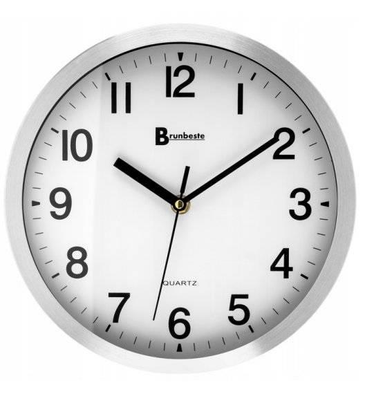 BRUNBESTE 1819 Zegar ścienny / Ø25 cm / tworzywo sztuczne