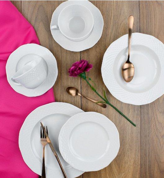 LUBIANA ARIANNA Serwis obiadowo-kawowy 60 el / 12 osób / porcelana