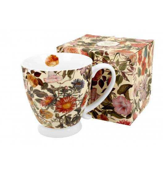 DUO FLORAL DREAM Kubek na stopce / 480 ml / porcelana