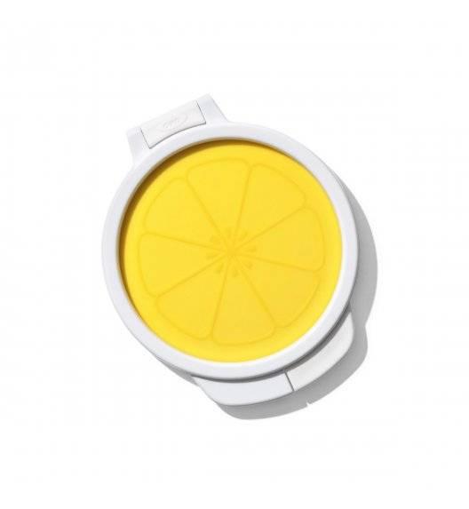 OXO GOOD GRIPS Pojemnik osłonka do cytryny / żółty, biały / tworzywo sztuczne