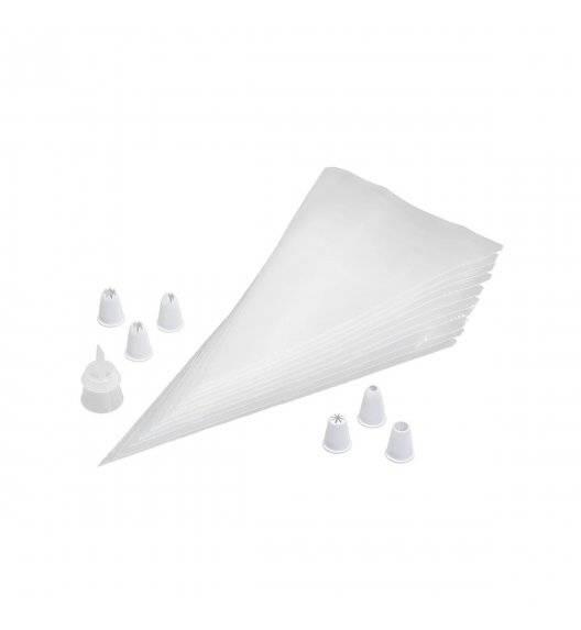 TALA Rękaw cukierniczy jednorazowy, dwukomorowy z tylkami / 17 elementów / tworzywo sztuczne