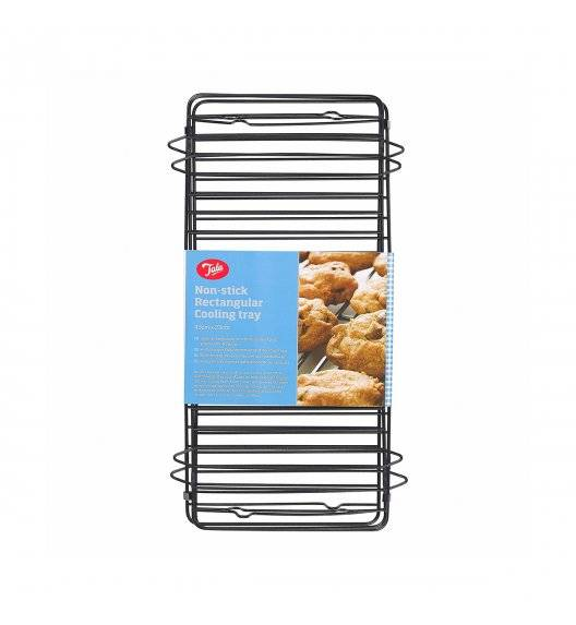 TALA Podstawka do studzenia ciast / 23 x 43 cm / czarny / metal