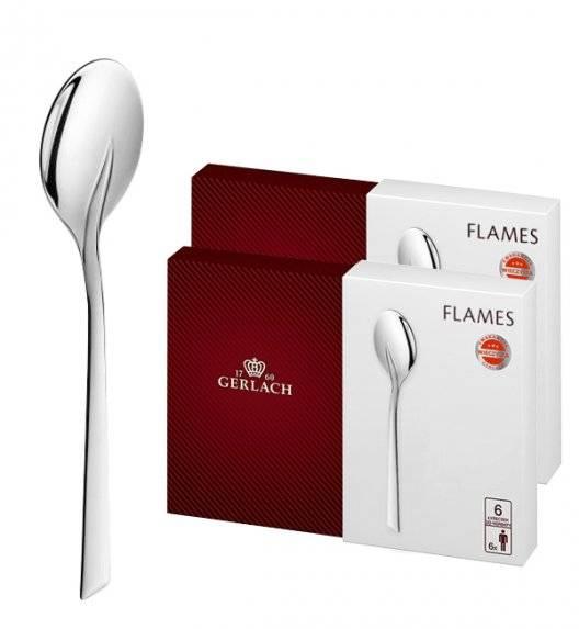Gerlach Flames Sztućce Łyżeczki do herbaty 12 el pudełko / 12 osób / połysk