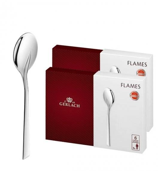 Gerlach Flames Sztućce Łyżeczki do kawy 12 el pudełko / 12 osób / połysk