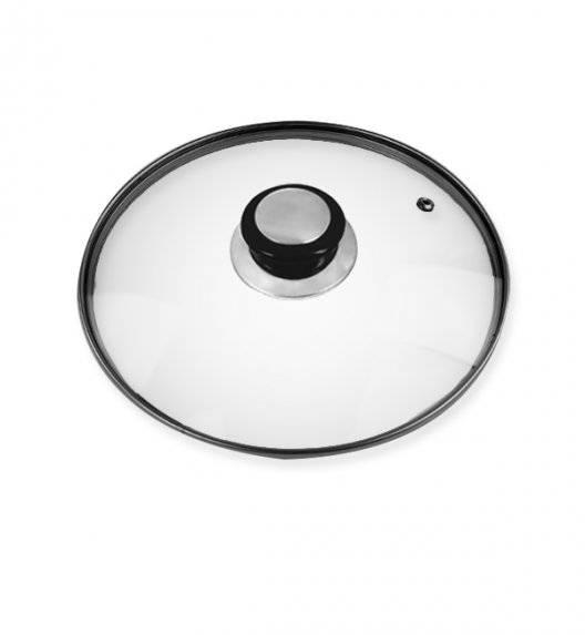 BRUNBESTE Pokrywka uniwersalna / Ø 24 cm / szkło, stal nierdzewna, tworzywo sztuczne