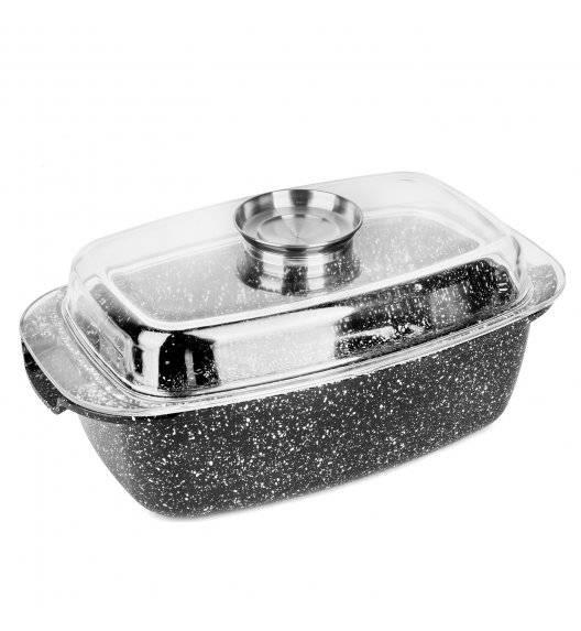 KonigHOFFER KINGSTONE Brytfanna 5,6 l z aromatyzerem / powłoka ceramiczna