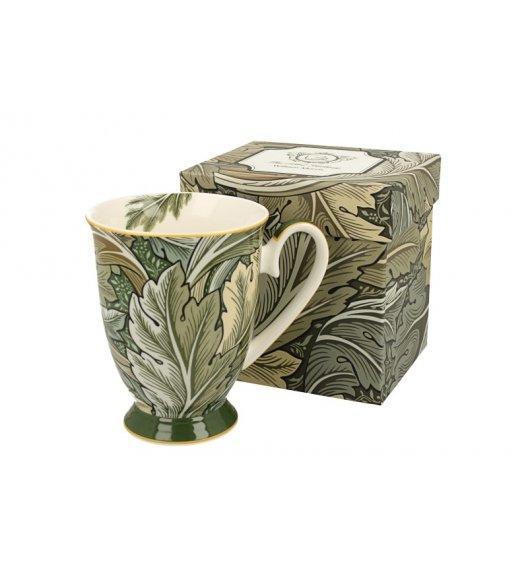 DUO AUTUMN Kubek na stopce 325 ml / inspirowana dziełami Williama Moriss'a / porcelana