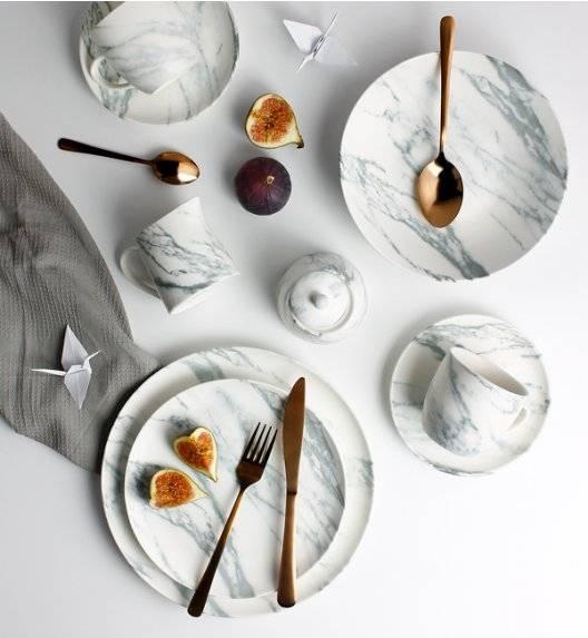 ZWIEGER MAVIS Serwis obiadowo - kawowy 64 el / 12 os porcelana
