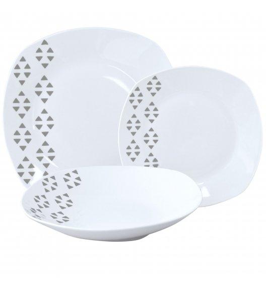 TADAR TRÓJKĄT Serwis obiadowy 36 elementów dla 12 osób / porcelana