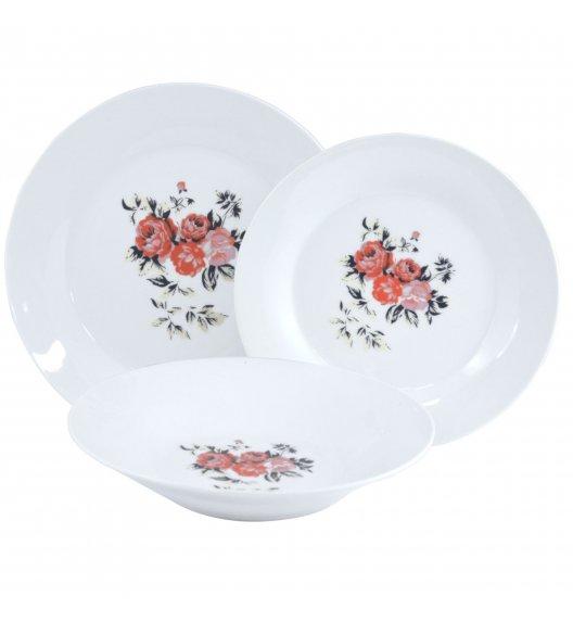 TADAR PIWONIA Serwis obiadowy 36 elementów dla 12 osób / porcelana
