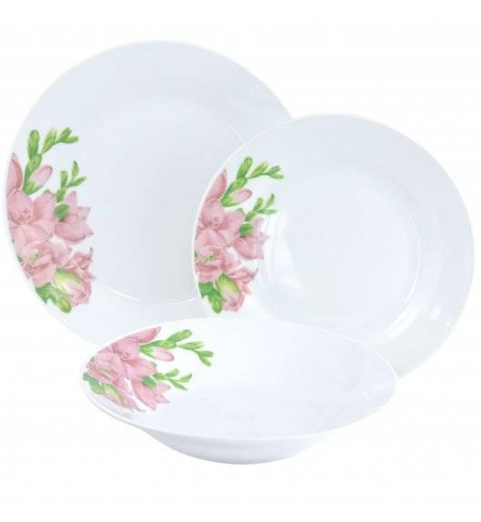 TADAR FREZJA Serwis obiadowy 54 elementy dla 18 osób / porcelana