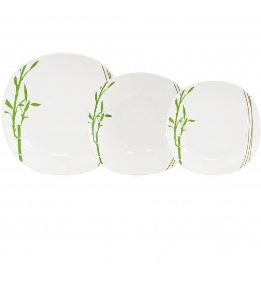 TADAR BAMBUS Serwis obiadowy 36 elementów dla 12 osób / porcelana