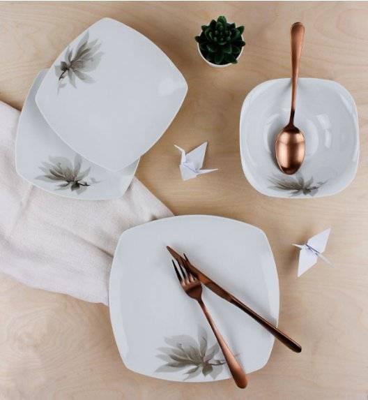 WYPRZEDAŻ! AFFEKDESIGN MAGNOLIA Serwis obiadowy 54 elementów / 18 osób / porcelana