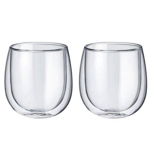 WESTMARK Komplet szklanek o podwójnych ściankach 250 ml / 2 elementy / szkło