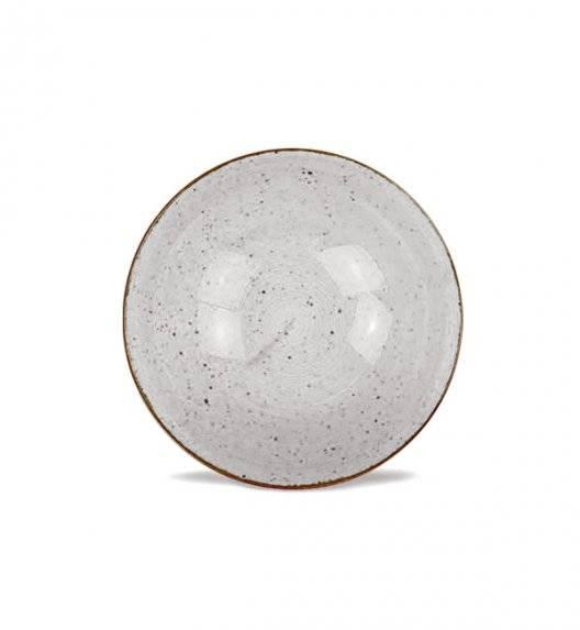 LUBIANA BOSS 6630Z Salaterka 15 cm / szara / porcelana ręcznie malowana