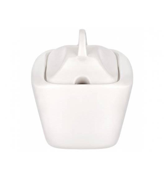 AMBITION FALA Cukiernica z pokrywką 120 ml / Porcelana