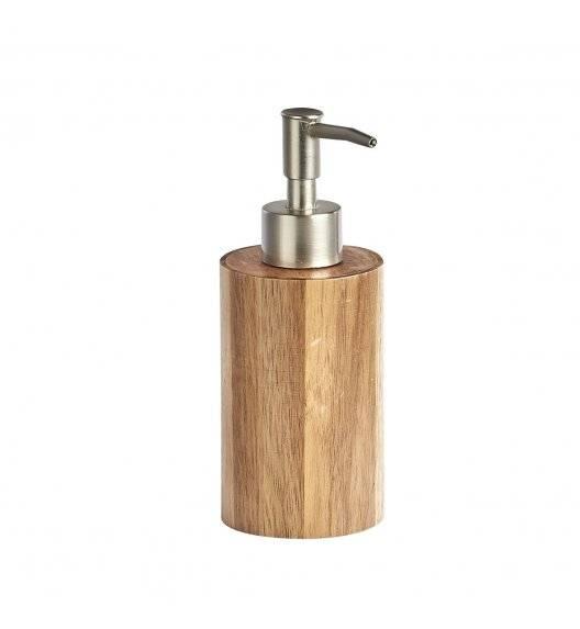 ZELLER AKACJA Dozownik na mydło w płynie 17,5 cm / drewno akacjowe