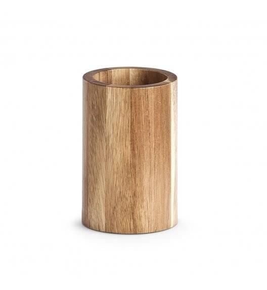 ZELLER AKACJA Kubek łazienkowy 11 cm / drewno akacjowe