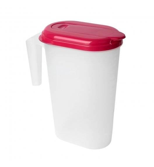 PLASTIC FORTE Dzbanek do napojów 1,5 L / mix kolorów / tworzywo sztuczne