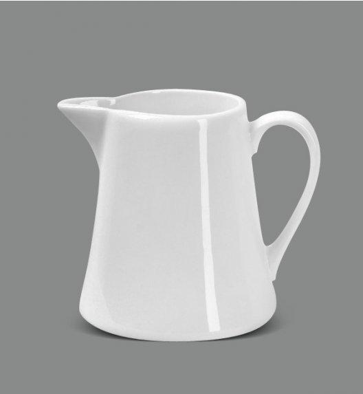 AMBITION FALA / KUBIKO Mlecznik 200 ml + cukiernica z pokrywką 130 ml / porcelana