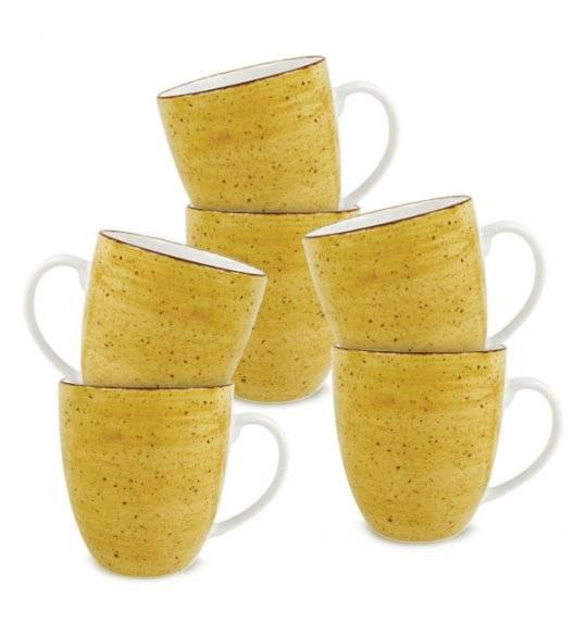 LUBIANA BOSS 6630J Kubek 380 ml / 6 os / 6 el / żółty / porcelana ręcznie malowana