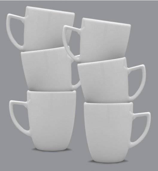 LUBIANA OPERA Komplet kubek 300 ml / 6 os / 6 el / porcelana