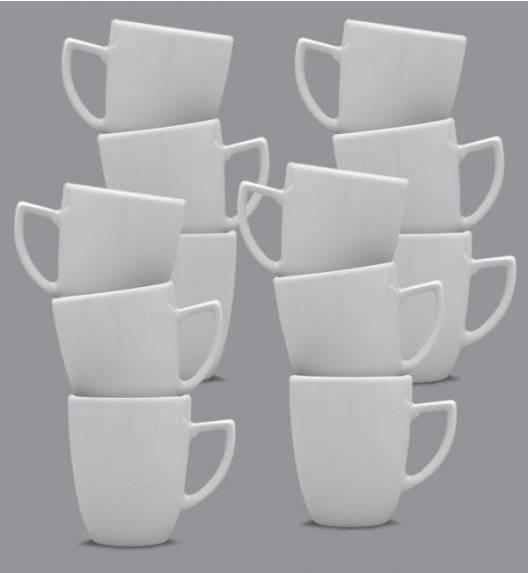 LUBIANA OPERA Komplet kubek 300 ml / 12 os / 12 el / porcelana