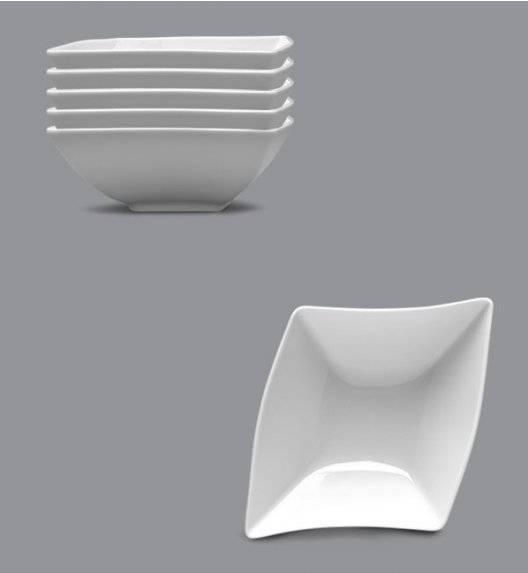 LUBIANA WING Komplet Salaterka / miska 15 cm / 6 el / 6 os / porcelana