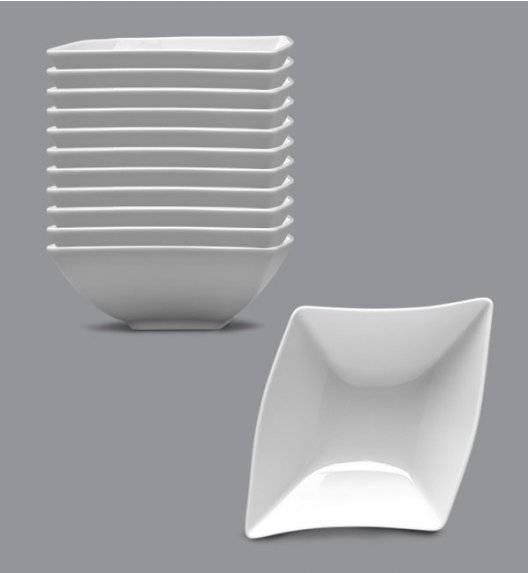LUBIANA WING Komplet Salaterka / miska 15 cm / 12 el / 12 os / porcelana