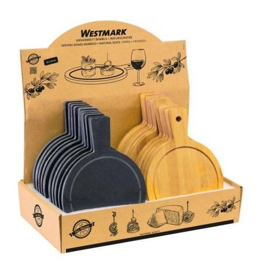 WESTMARK TAPAS+FRIENDS 24 deski do serwowania / drewno, łupek
