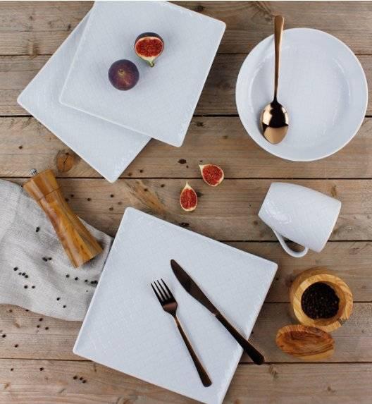 LUBIANA MARRAKESZ Komplet obiadowy 18 os 72 el / kwadratowy / porcelana