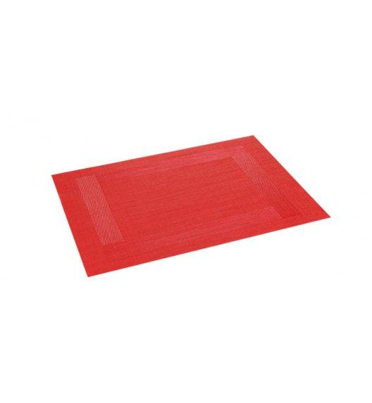 WYPRZEDAŻ! TESCOMA FLAIR Podkładka prostokątna  45 x 32cm / czerwona