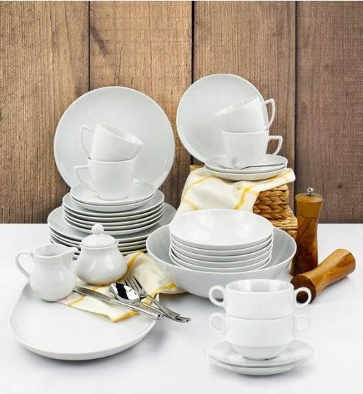LUBIANA BOSS BEATA Serwis obiadowo - kawowy152 el / 24 os / porcelana