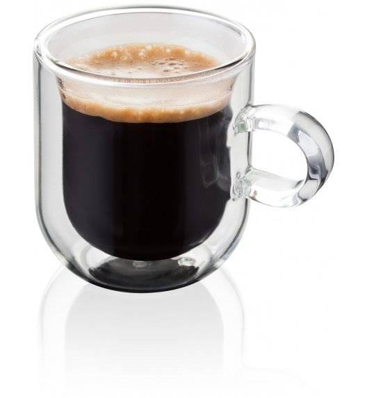 JUDGE Zestaw 2 filiżanek do espresso o podwójnych ściankach / 75 ml  / wysoka