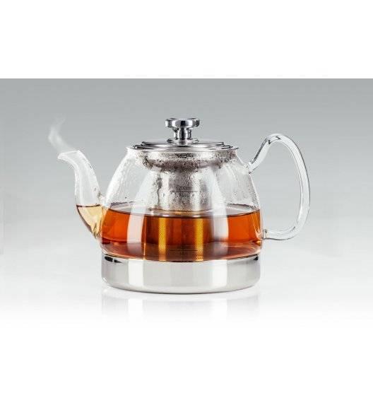 JUDGE Czajnik / zaparzacz do herbaty szklany 1200 ml