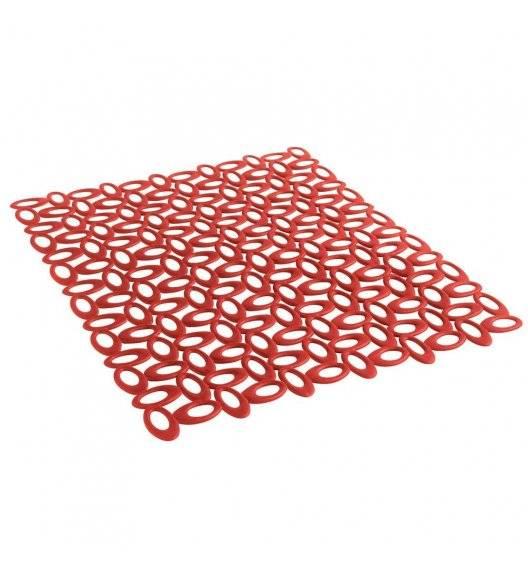 MASTRAD Mata do zlewu 40 x 32 cm / czerwona