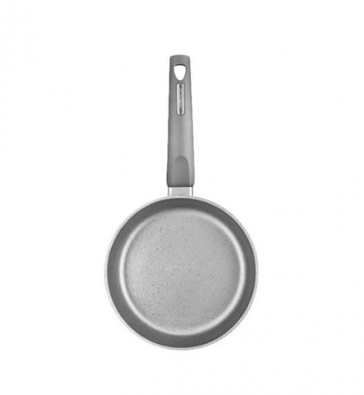 AMBITION MAGNAT GRAY Patelnia 20 cm z powłoką Qualum Basic Stone / indukcja + przekładka filcowa