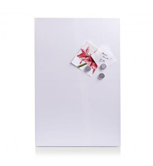 ZELLER Biała tablica magnetyczna 40 x 60 cm / metal