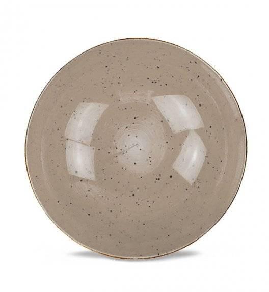 LUBIANA BOSS 6630T Salaterka 21 cm / brązowa / porcelana ręcznie malowana