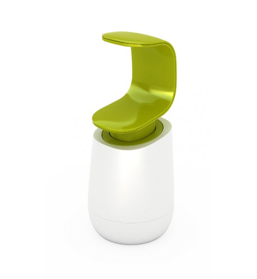 JOSEPH JOSEPH C-PUMP Pojemnik na mydło z dozownikiem 0,3 l biało-zielony / Btrzy