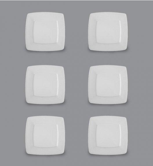 LUBIANA VICTORIA Komplet Talerze deserowe 21 cm / 6 el / 6 os / porcelana